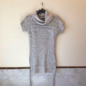 Zara Knit Alpaca Wool Sweater Mini Dress or Tunic
